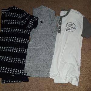 Mens express v neck t shirts bundle